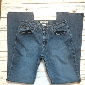 Maurices low rise boot jeans size 9/10